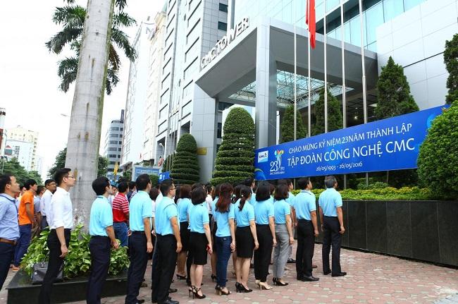 CMC Corporation là một trong những Tập đoàn công nghệ hàng đầu Việt Nam